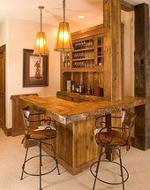 Rustic Bar Ideas For Basement