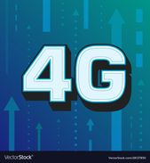 4g high speed internet technology Royalty Free Vector Image , #Affiliate, #internet, #technology, #high, #speed