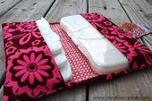 Proyectos de costura fáciles de vender - Portador fácil de pañales y toallitas - Ideas de costura DIY ...
