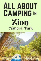 All about camping in Zion National Park – #All #camp #camping #im #Nationalpa …  – Camping