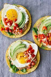 10-Minute Huevos Rancheros Breakfast Tostadas This…