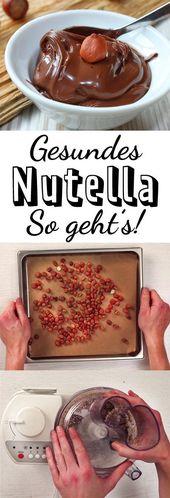 Gesunde Nuss-Nougat-Creme selber machen – so geht's