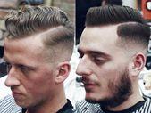 Harter Teil Seitenscheitel Kurzhaarschnitte für Herren Frühling Sommer 2017   Kurze Frisuren für Männer #Menshairstyles