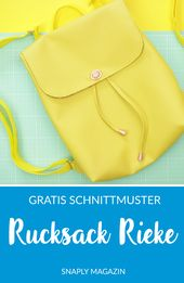 #RucksackRieke – Gratis Schnittmuster und Anleitung