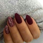 70 Stunning Designs for Almond Nails You Wont Resist; almond nails long or s   A…
