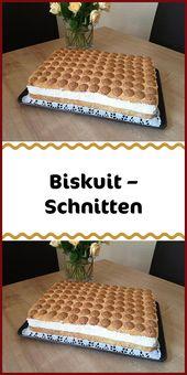 Biskuit – Schnitten