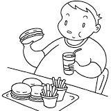 Resultado De Imagen Para Dibujos Para Pintar Obesidad