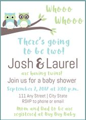 5 Perfect Baby Shower Themes for Twins + Free Graphics – AJ Design + Photography