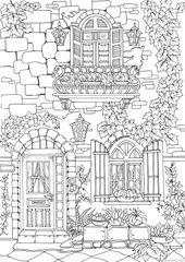 Fancy Exterior   – Coloring