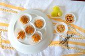 Mini-Karamell-Äpfel in Mini-Muffin-Liner   – halloween