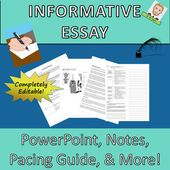 Informative Essay Full Widespread Core Lesson Plan