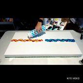 #126 – Fire & Ice Dutch Pour! | Fluid Artist | Acrylic Painting – YouTube