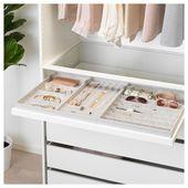 KOMPLEMENT insert for pull-out shelf – light gray