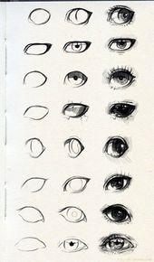 Wie zeichnet man Cartoon Augen und Gesicht