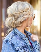 50 hairstyles inspired for a stylish back to school #frisurenflechten