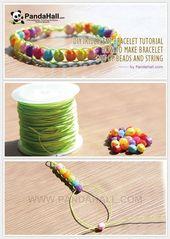 DIY Iridescent Bracelet Tutorial – Make Iridescent Bracelet From … #ar … –  …
