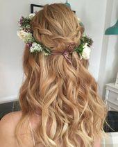 (notitle) – Bruidskapsels, Haaraccessoires, Sluiers, #Bruid Hairstyles #Haar sieraden #notitl…