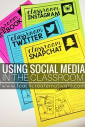 Using Social Media in the Classroom! – Teach Create Motivate