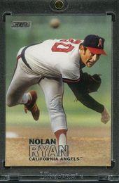 2016 Topps Stadium Club Baseball 1 1 Blank Back Nolan Ryan Angels Baseball Nolan Ryan Baseball Baseball Cards