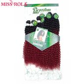 Miss Rola Synthetic Curly Hair Extensions Ombre Ha…
