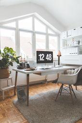 Mein Arbeitszimmer 2.0: Stylishe und funktional Einrichtungsideen für das Home Office – Kleidermaedchen – Fashion, Outfit Trends, Streetstyles, Beauty & Interior Inspirationen