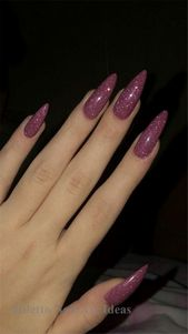55 Cool And Trendy Stiletto Nail Designs For You…