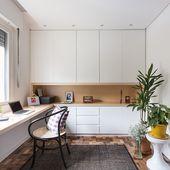 Bold Hues & Beautiful Floors Fill a Couple's Brazilian Home