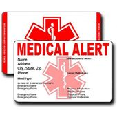 Create Your Own Free Medical Emergency Card To Carry In Your Wallet