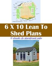 Diy Small Storage Shed Plans – Lean To Shed Plan