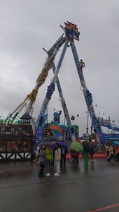 Thrill Ride In Oktoberfest 2019 In Theresienwiese Area, Munich, Germany Editorial Image – Image of festival, 2019: 159365025