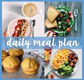 daily meal plan: number six