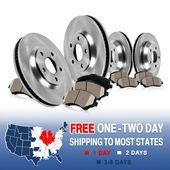 Front Brake Rotors /& Ceramic Pads For Honda Pilot 2003-2004-2005-2006-2007-2008