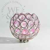 Beaded Round Crystal Candle Holder Beaded, Round,…