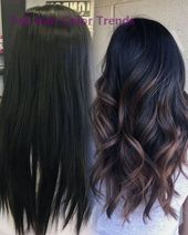 25 Pretty Fall Hair Color For Brunettes Ideas   – Trendy Hair Colors
