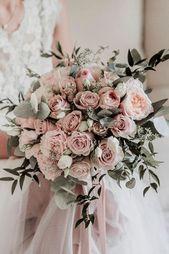 20 Ideen, um Ihre Hochzeitskirche in Pink einzurichten