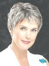 "Lace Front Straight 4 ""Cropped Grey Hair Perücken (SKU: XW04001) – Kurze Perücken – Perücken"