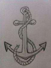 #zeichnungen #zeichnet #traurig #drawing #einen #anker
