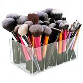 Makeup brush holder, Acrylic makeup organizer, Organize the brush # felt-tip brush …