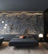 Wie man Beleuchtung und Texturen benutzt, um dunklen Innenräumen Interesse zu verleihen