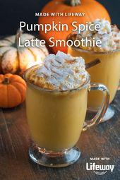 Kürbisgewürz Latte Smoothie