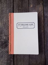 Personalized My College Life Journal Choose Your by twinebindery, $20.00 – Colle… – College Life