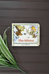 Baby Ilustration Baby Board Book The Mitten