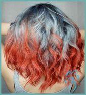▷ 1001+ Ideen für bunte Haare. Bunte Haarfarben sind immer aktuell! | Damen Frisuren –  – #Kurzhaarfrisuren