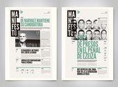 Manifiesto · Diseño de periódicos sobre Behance  – GraphicDesign