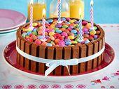 Colorful chocolate crispy waffle cake + # apple_pies # colorful #cake #chocolate_pies #easy _…  – Rezepte