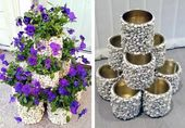 How to build a flower tower – Laura Clark-Finfrock