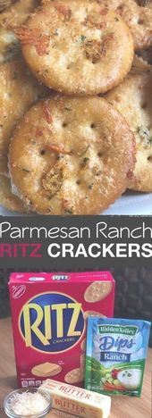 Zesty Baked Ritz Crackers — SO GOOD!! (made with …
