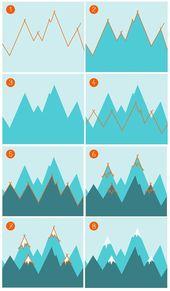 Kinderzimmer mit Bergen gestalten – Berglandschaft als Wandgestaltung