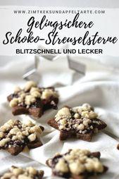 Wonderful cookies for real sprinkles fans: my chocolate sprinkles stars …