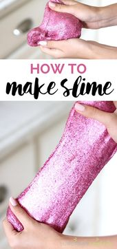 DIY Slime DIY Slime is the new popular activity for kids.  Come see How To Make Slime for...